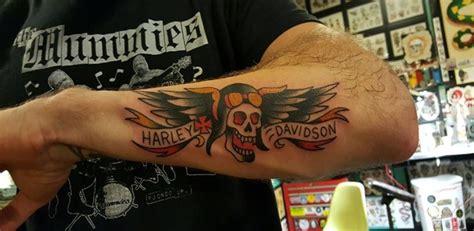 harley davidson tattoos  individual expression