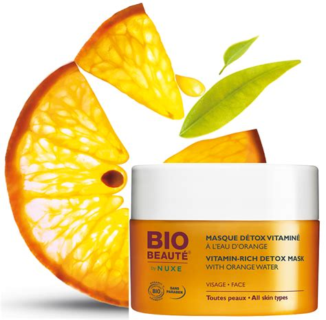 Bio Beauté Nuxe Masque Detox Vitaminé by Shopper In The City Cosmetics And Trends