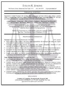 Resume Sample Law by Paralegal Resume