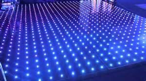 illuminated led pixel rgb visualisation floor