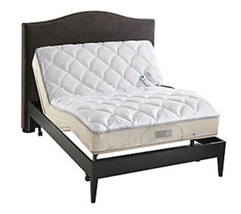 full size sleep number bed sleep number icon 10 full adjustable bed set qvc com