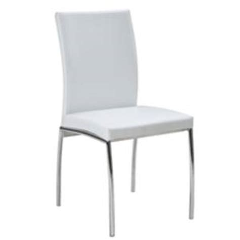 2 white leather dining chairs as new melbourne