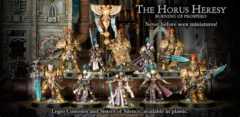 The New Heresy by Of Silence And Adeptus Custodes Are Live