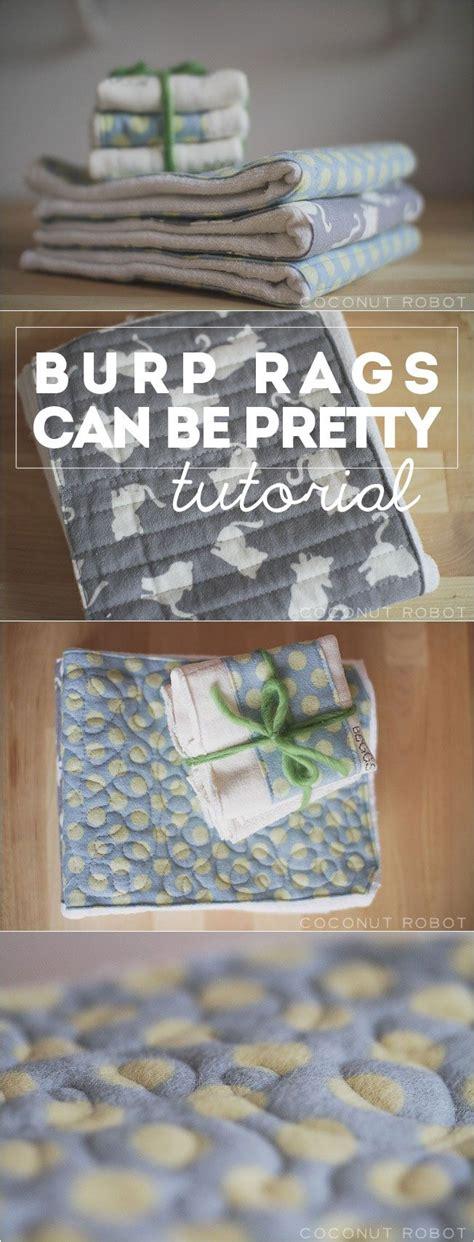 Handmade Burp Cloths Pattern - 10 best ideas about burp rags on baby burp