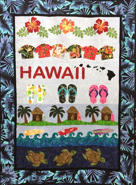 hawaii complete quilt kit