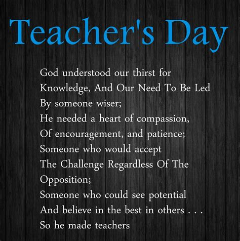 day poem in teachers day poems in poetry images