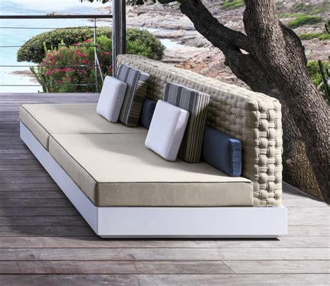 divanetti da esterno divanetto per esterno senza braccioli idfdesign
