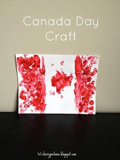 canada crafts for canada day crafts on flag of canada frog