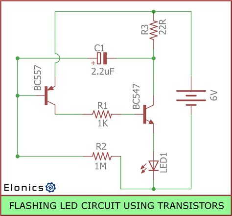 resistors used with transistors blinking led capacitor transistor 28 images dual led flasher by 2n2907 electronic projects