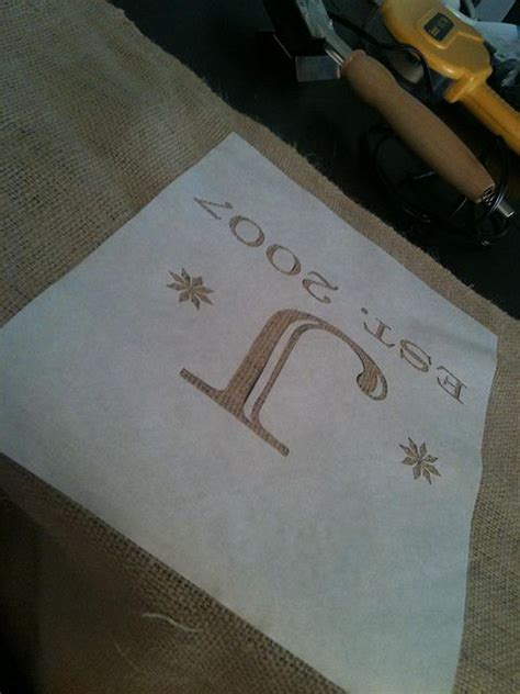 How To Make A Stencil With Wax Paper - use freezer paper for stencil then iron wax side to
