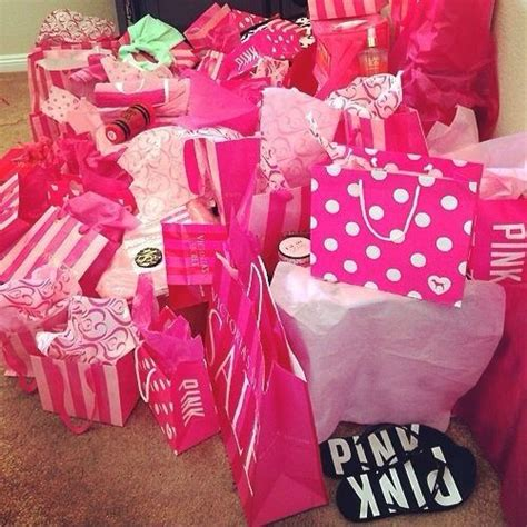 pink christmas gifts