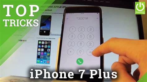 codes in apple iphone 7 plus tricks advanced settings