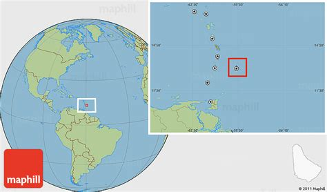 where is barbados on world map savanna style location map of barbados