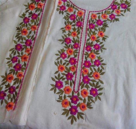 Handmade Embroidery Designs Suits - 270 best kurtas embroider images on embroidery