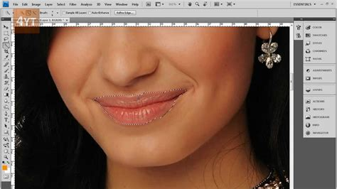 tutorial photoshop tingkat mahir tutorial changing lip color shade in photoshop youtube