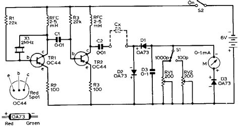 simple capacitor checker new circuits page 151 next gr