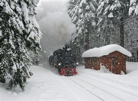 tren de invierno la fr 237 a nostalgia de los trenes en la nieve