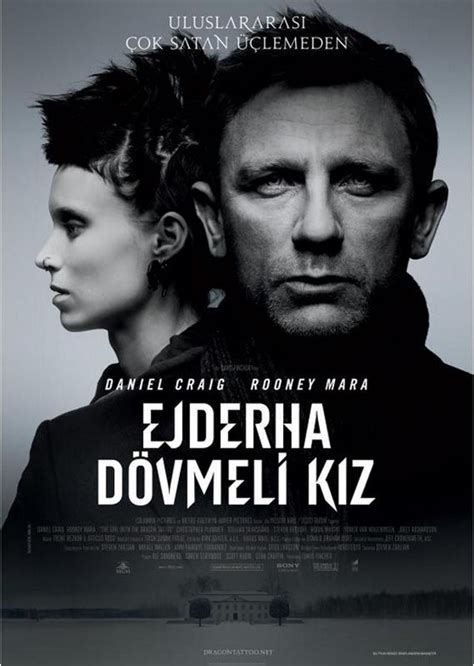 dragon tattoo yify the girl with the dragon tattoo 2011 t 252 rk 231 e altyazı