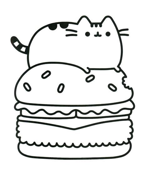 coloring pages of fat cats pin by marjolaine grange on coloriage pusheen pinterest
