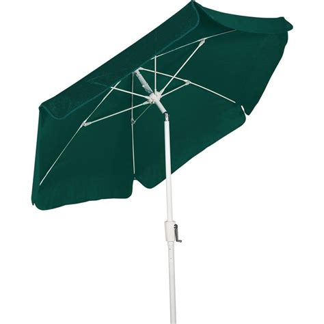 Green Patio Umbrella Picnic Time 5 5 Ft Patio Umbrella In Navy 822 00 138 000 0 The Home Depot