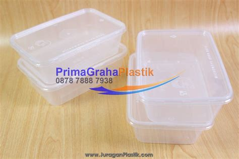 Fim Plastik Kotak Thinwall 750ml kotak plastik crp 750 ml microwaveable freezer home