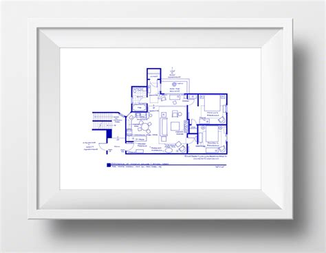 floor plans of tv homes floorplans bring to your favorite tv show