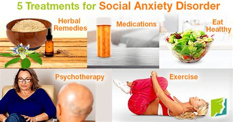 anxiety treatment top 5 treatments for social anxiety disorder