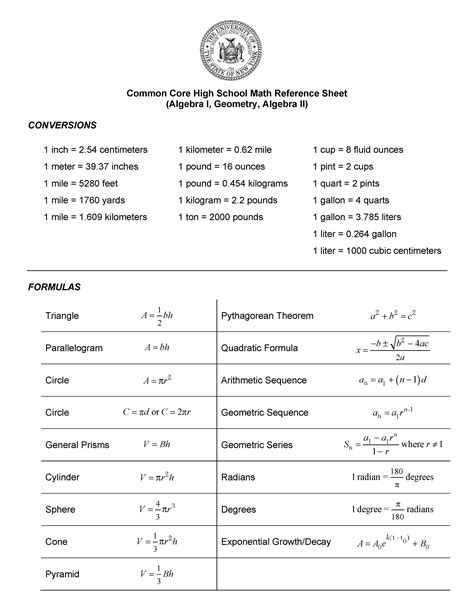 Pdf Geometry Common 2017 Regent Answers Jmap by Jmap Extras Formula Sheets Grids And Other Math