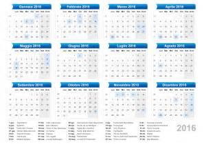 Calendario 2018 Novembre Calendario Calendario 2016 Con Giorni Festivi E Ponti