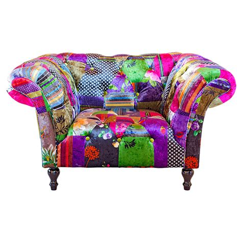 Patchwork Sofas And Chairs - furniture by chaisse limited alhambra patchwork