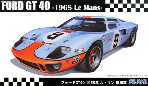 68 ford gt40 ford gt40 68 lemans winner model car package1