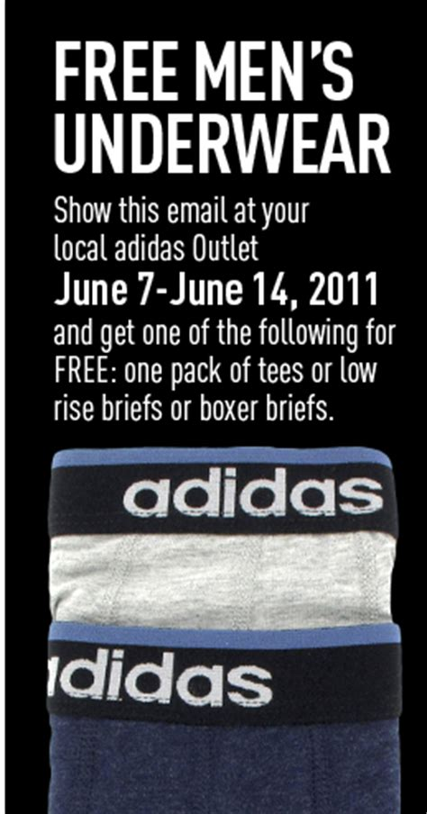 Free Mens Underwear Giveaway - adidas outlet free men s underwear