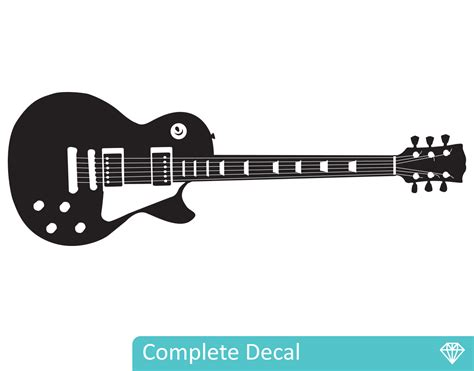 Guitar Wall Stickers les paul guitar your decal shop nz designer wall art