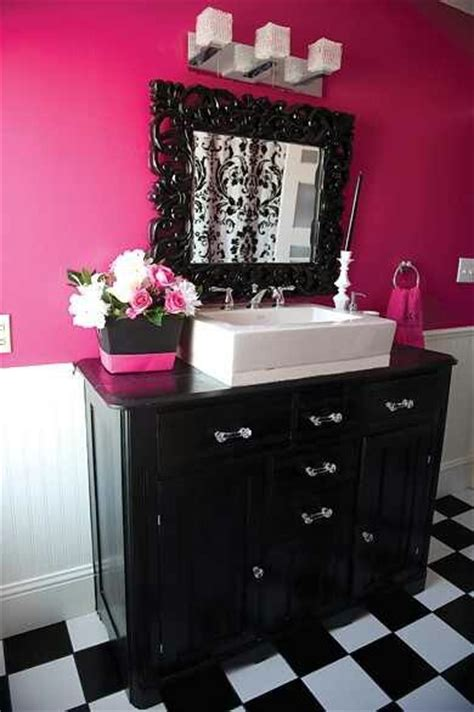 black white pink bathroom 17 best images about bathroom decor ideas on pinterest