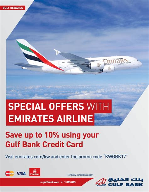 emirates deals kuwait local special offers with emirates airline gulf bank
