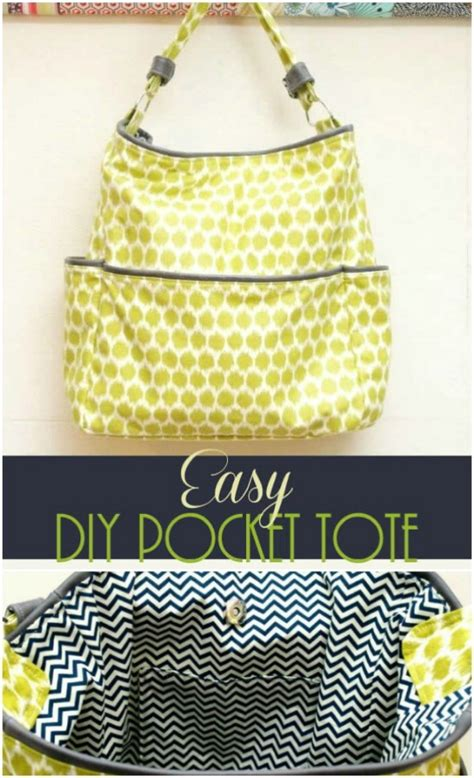 easy tote bag pattern with pockets 60 gorgeous diy tote bags with free patterns for every