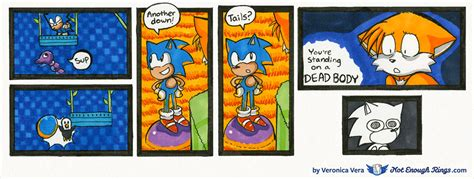 Zone 2 In 1 Top By Anfashion sonic the hedgehog 2 archive not enough rings