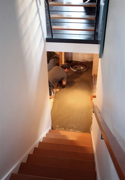 self leveling basement floor 17 best images about home make on