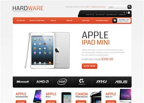 buzz themes computer store 10 opencart computer store themes designerslib com