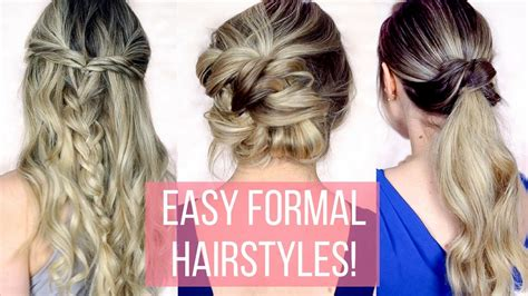 Formal Hairstyles For Hair Tutorials by Prom Formal Hairstyles For Hair Hair Tutorial