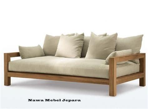 Sofa Dari Kayu Jati model sofa tamu minimalis terbaru 2017 nawa mebel jepara