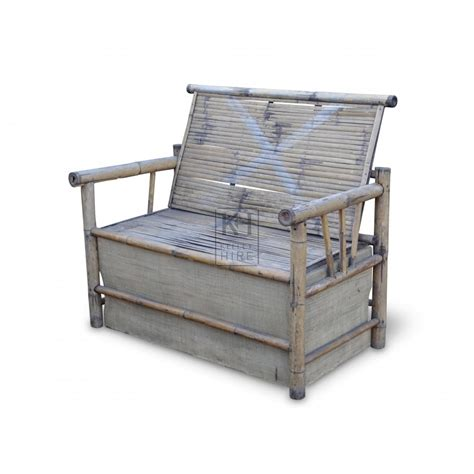 benches prop hire 187 bamboo bench seat keeley hire