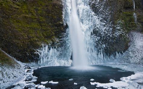 frozen waterfall wallpaper 1280x800 frozen waterfall desktop pc and mac wallpaper