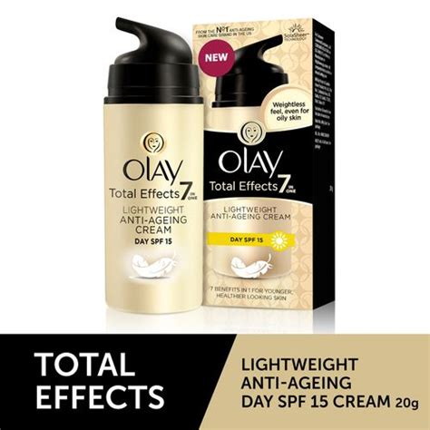 Olay Total Effect Day Spf 15 olay olay total effects light weight anti ageing day