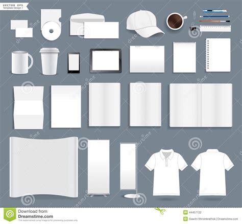 vector corporate identity templates stock vector image