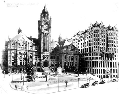 Los Angeles County Records Los Angeles County Courthouse And Of Records Circa 1920