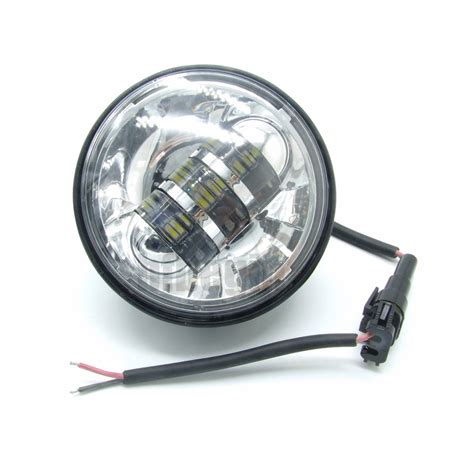 motorcycle led auxiliary lights 4 5 quot 6 led auxiliary passing fog light l motorcycle