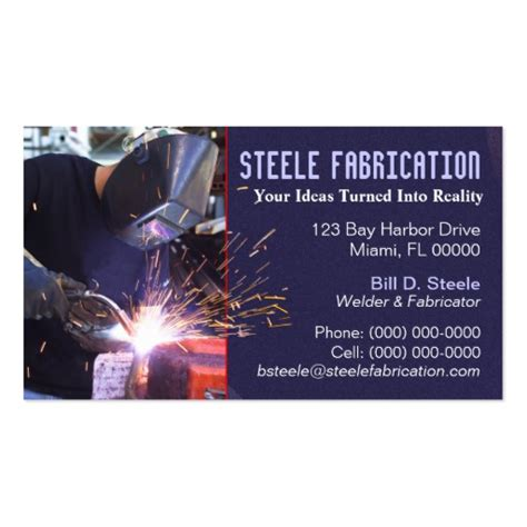welding business card templates free welding business card templates bizcardstudio