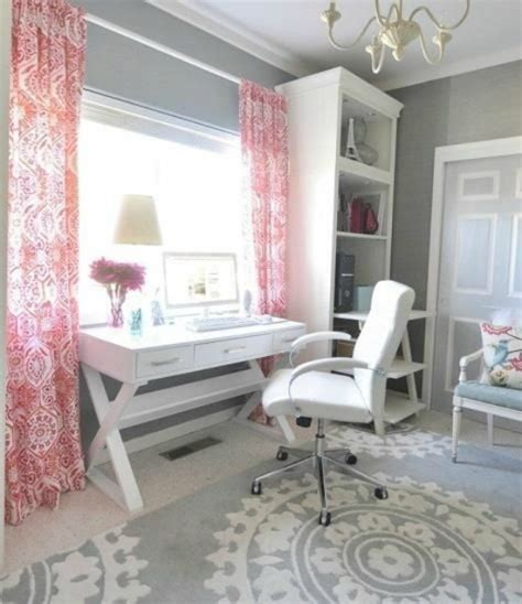 the pink and grey look nice with the paint color eden s 5 ways to get this look pink and gray office space