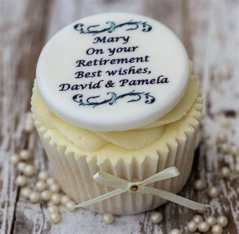 retirement cake decorations retirement cupcake decorations by just bake
